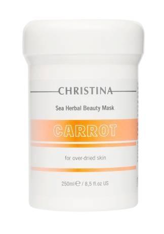 Christina Маска Sea Herbal Beauty Mask Carrot for Over-Dried Skin Красоты Кортиноловая Морковная для Пересушенной Кожи, 250 мл