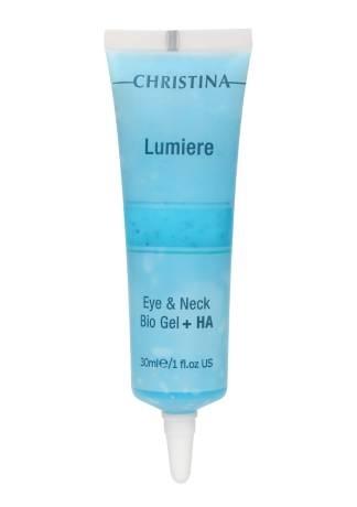Christina Био-гель Lumiere Eye Bio Gel + HA для Кожи вокруг Глаз с Гиалуроновой Кислотой, 30 мл