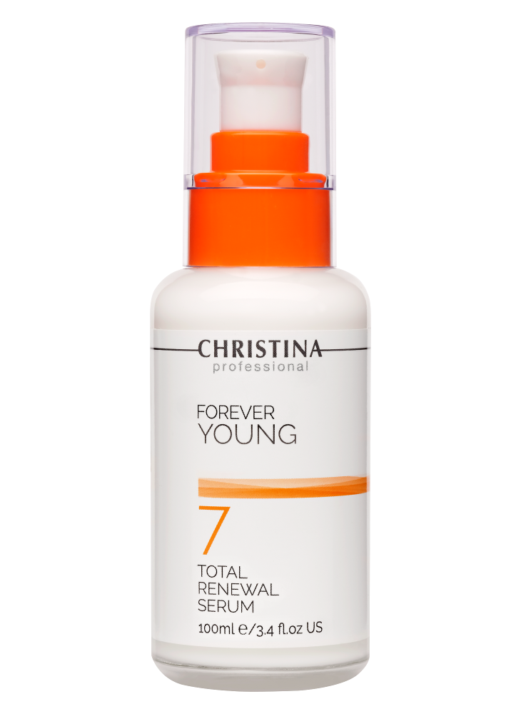 Christina Forever Young Омолаживающая Сыворотка Тоталь (Шаг 7), 100 мл christina детокс сыворотка суприм шаг 7 100 мл