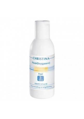 Christina FluorOxygen+C Пилинг форте (шаг 3), 150 мл минимойка лонгер форте c емкостью 20л