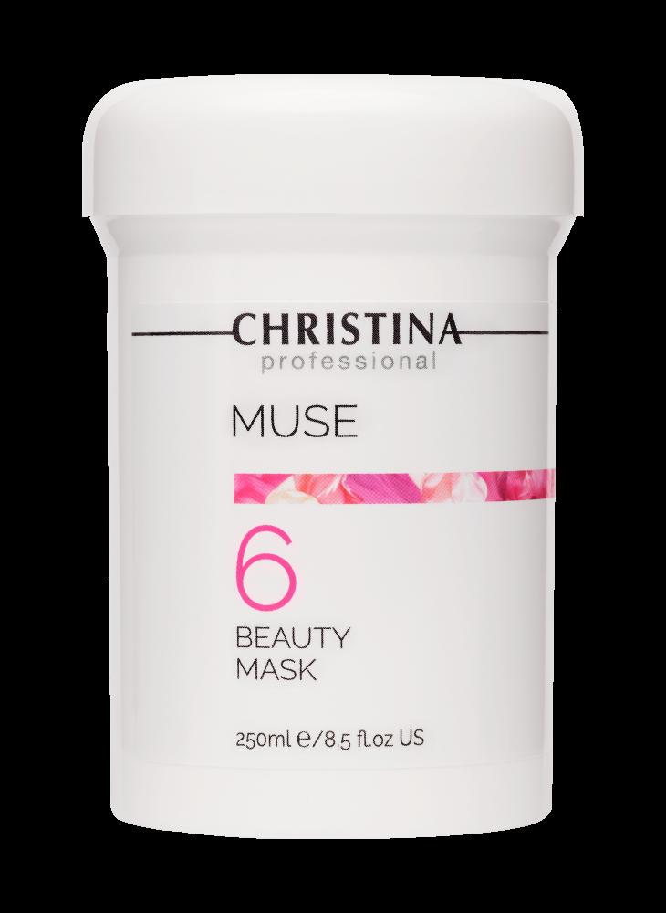 Christina Маска Muse Beauty Mask Красоты с Экстрактом Розы, 250 мл christina маска muse beauty mask красоты с экстрактом розы 75 мл