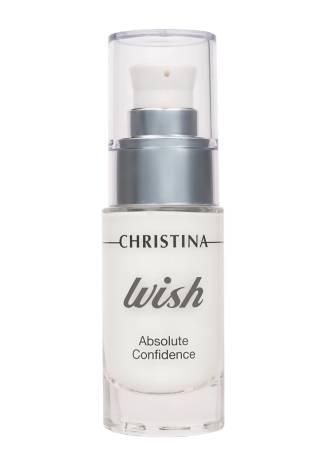 Christina Wish Сыворотка Абсолютная Уверенность для Сокращения Мимических Морщин, 30 мл christina silk шелковая сыворотка 30 мл