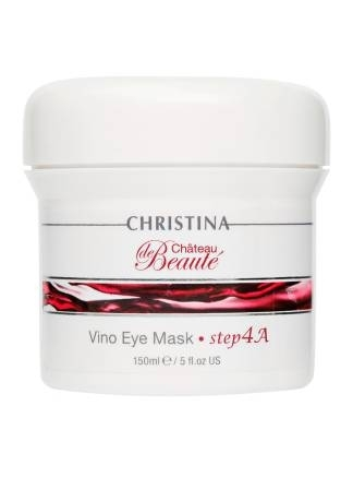 Christina Chateau de Beaute Маска для кожи вокруг глаз (шаг 4а), 150 мл омолаживающий крем для кожи вокруг глаз christina chateau de beaute rejuvenating vineyard eye сreаm 30 мл