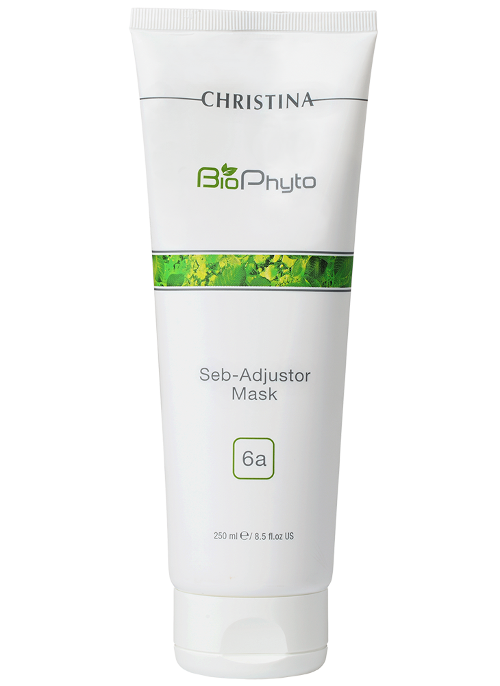 Christina Маска Bio Phyto Seb-Adjustor Mask Себорегулирующая (шаг 6а), 250 мл christina bio phyto anti rougeurs mask маска противокуперозная 75 мл