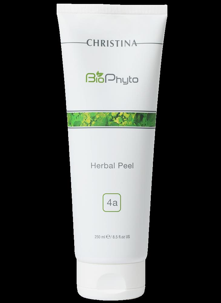 Christina Пилинг Bio Phyto Herbal Peel Растительный (шаг 4a), 250 мл christina пилинг гоммаж с витамином е 250 мл