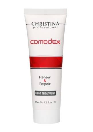 Christina Comodex Renew Ночная обновляющая сыворотка-восстановление, 50 мл declare ночная восстанавливающая сыворотка 50 мл