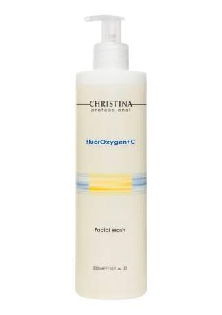 Christina Гель FluorOxygen+C Facial Wash для Умывания, 300 мл