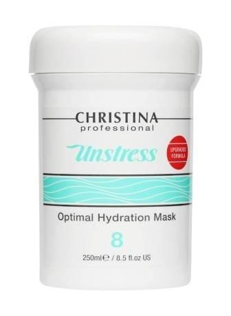 Christina Unstress Оптимальная Увлажняющая Маска (Шаг 8), 250 мл увлажняющая маска авен
