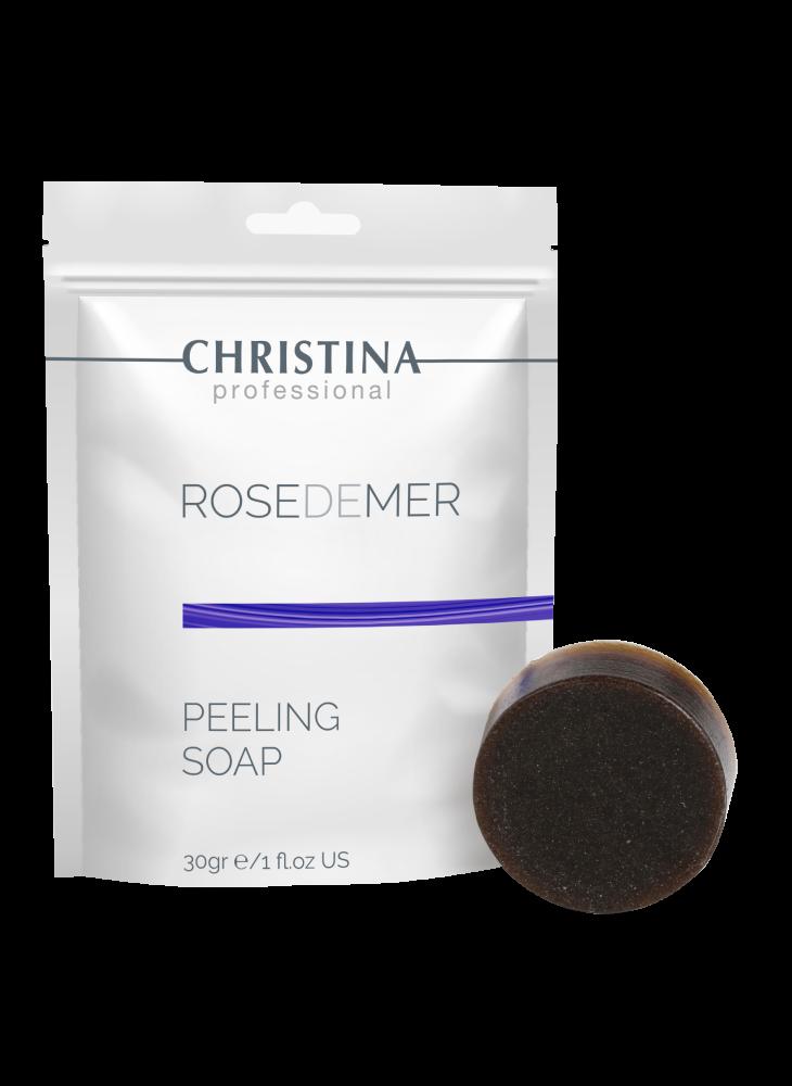 Christina Мыло Rose de Mer Peeling Soap Пилинговое, 30г коралловый пилинг роз де мер купить