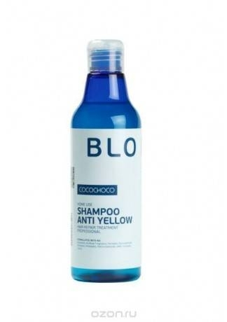 COCOCHOCO Шампунь для Осветленных Волос Blond, 250 мл cocochoco shampoo anti yellow шампунь для осветленных волос 500 мл