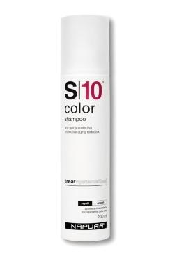 Napura Color S10 Шампунь для Окрашенных Волос, 200 мл napura stamigen s00 шампунь активатор 200 мл