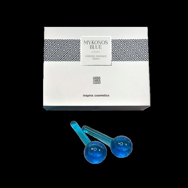 JANSSEN COSMETICS Шарики Cooling Massage Tools Охлаждающие Стеклянные для Массажа, 2 шт