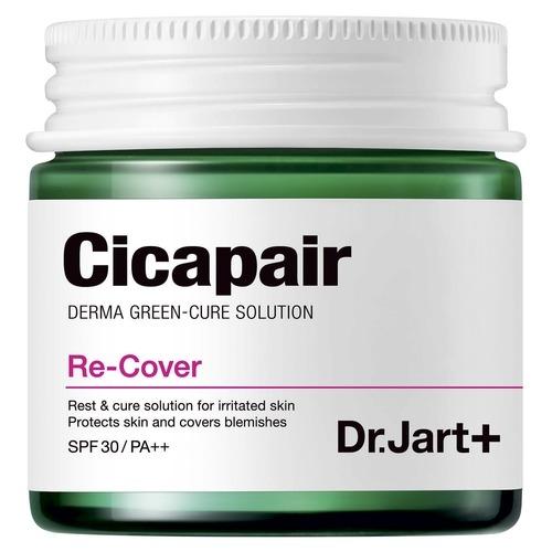 цена Dr.Jart+ СС Крем CiCapair Re-Cover Восстанавливающий Антистресс Корректирующий Цвет Лица SPF40/PA++, 50 мл онлайн в 2017 году