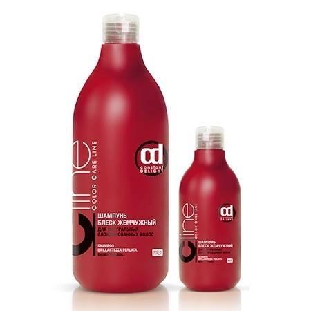 Constant Delight Шампунь Блеск Жемчужный для Натуральных Блондированных Волос Color Care Line, 200 мл