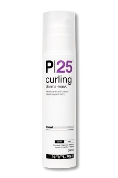 Napura Curling P25 Плазма-Маска для Вьющихся Волос, 200 мл napura шампунь purify 200 мл