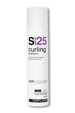 Napura Шампунь Curling S25 для Вьющихся Волос, 200 мл napura шампунь активатор stamigen s00 200 мл