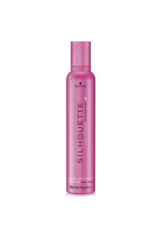 Silhouette Мусс для окрашенных волос сильной фиксации, 500 мл