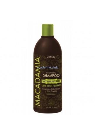 Увлажняющий Шампунь для Нормальных и Поврежденных Волос Macadamia, 500 мл