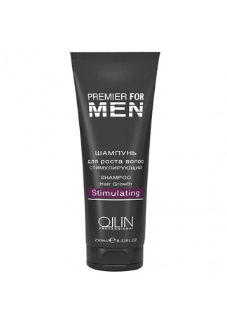 PREMIER FOR MEN Шампунь для Роста Волос Стимулирующий Shampoo Hair Growth Stimulating, 250 мл
