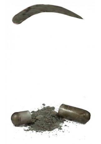 Синтетическая Краска-Хна в Капсулах для Бровей (Графит) Eyebrow Tint Graphite, набор 15 капсул