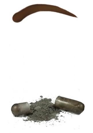 Синтетическая Краска-Хна в Капсулах для Бровей (Коричневый) Eyebrow Tint Medium Brown, набор 15 капсул
