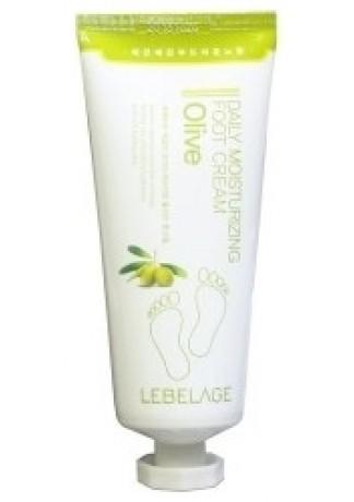 Крем для Ног Увлажняющий с Экстрактом Оливы Daily Moisturizing Oilve Foot Cream, 100 мл