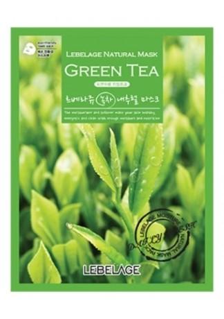 Тканевая Маска с Экстрактом Зеленого Чая Green Tea Natural Mask, 23г