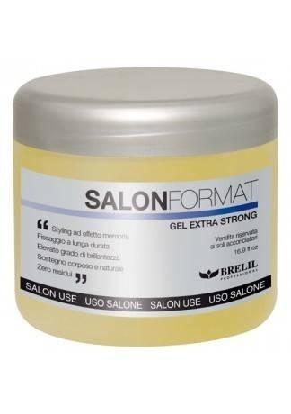 Гель для волос экстрасильной фиксации Gel Extra Strong, 500 мл