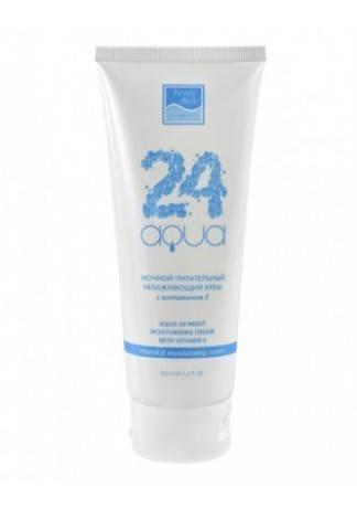 Ночной Питательный Увлажняющий Крем с Витамином Е «Аква 24» Night Moisturising Cream with Vitamin E, 150 мл