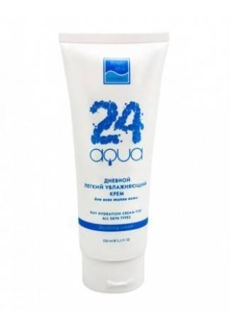 Дневной Легкий Увлажняющий Крем для Всех Типов Кожи «Аква 24» Day Light Moisturizing Cream, 150 мл