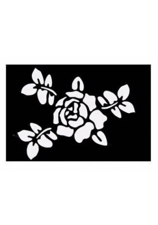 Трафареты Бумажные Малые Черно-Белые и Цветные (Размер 6см х 6см)