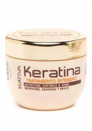 Кератиновая Интенсивно Восстанавливающая Маска для Поврежденных и Хрупких Волос Keratina, 250 мл