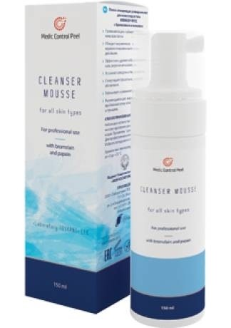 Medic Control Peel Мусс Клинсер Cleanser Mousse, 150 мл