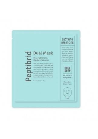Маска для Лица Peptibrid Dual Mask Soothing&Balancing