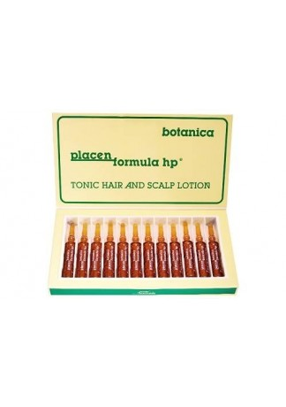 Средство для стимуляции роста волос и ухода за кожей головы, формула HP Ботаника, 12*10 мл