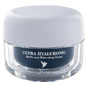 Крем Ultra Hyaluronic acid Bird's nest Water- drop Cream для Лица Ласточка Гиалурон, 50 мл