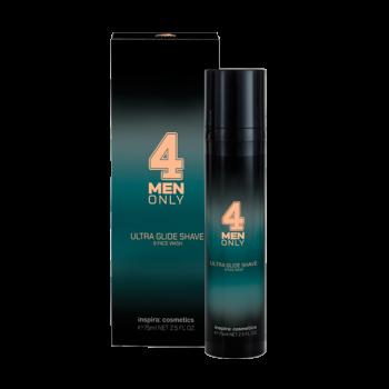 Гель-Крем Ultra Glide Shave & Face Wash 4 Men Only Ультрамягкий для Умывания и Бритья, 75 мл