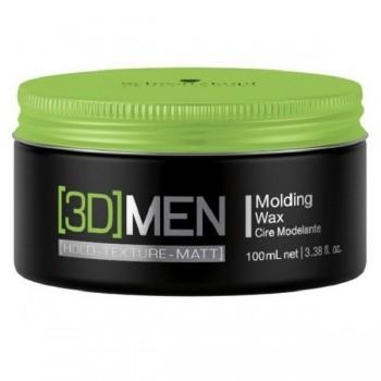 Воск 3D MEN Формирующий для укладки волос, 100 мл