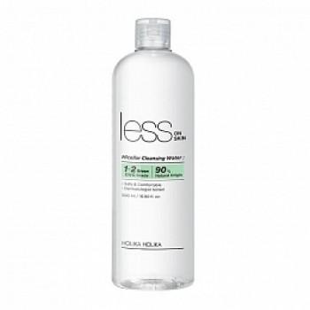 Вода Less On Skin Micellar Cleansing Water Мицеллярная, 500 мл