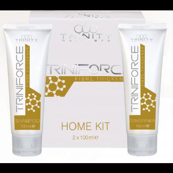 Набор Triniforce Шампунь+Кондиционер для Волос Уплотнение Волос, 2*100 мл