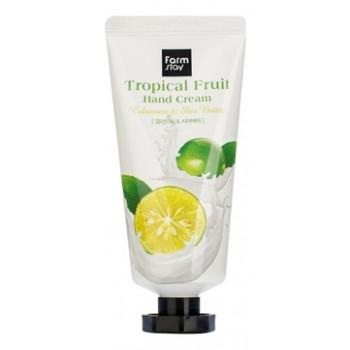 Крем Tropical Fruit Hand Cream Calamansi & Shea Butter для Рук Тропические Фрукты с Экстрактом Каламанси и Маслом Ши, 50 мл