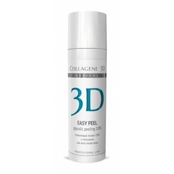Гель-пилинг для лица с хитозаном на основе гликолевой кислоты 10% (pH 2,8) Easy Peel, 30 мл