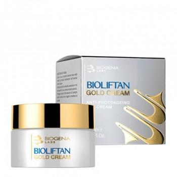 Крем Bioliftan Gold Cream Омолаживающий Золото-Пептидный, 50 мл