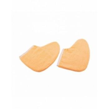 Утеплители Махровые Удля Ног Цвет: Персик, 1 пара