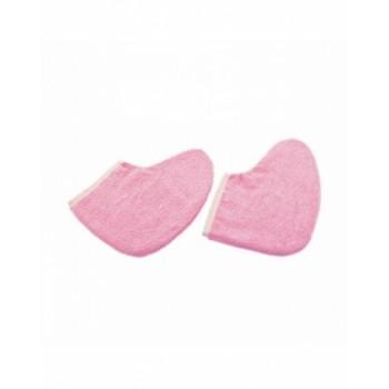 Утеплители Махровые Удля Ног Цвет: Розовый, 1 пара