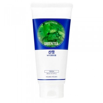 Пенка Daily Fresh Green tea Cleansing Foam Очищающая для Лица Дэйли Фреш Зеленый Чай для Проблемной Кожи, 150 мл