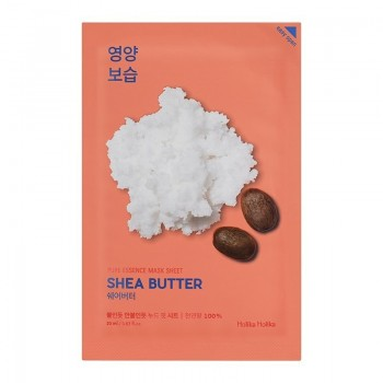 Маска Pure Essence Mask Sheet Shea Butter Питающая Тканевая Пьюр Эссенс с Маслом Ши, 20 мл