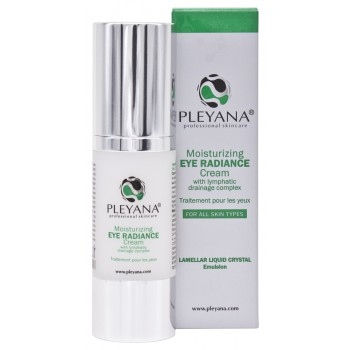 Крем-Сияние Moisturizing Eye Radiance Cream With Lymphatic Drainage Complex Увлажняющий для Контура Глаз с Лимфодренажным Комплексом, 30 мл