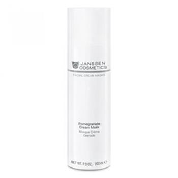 Омолаживающая Крем-Маска с Экстрактом Граната и Витамином C Pomegranate Cream Mask, 200 мл