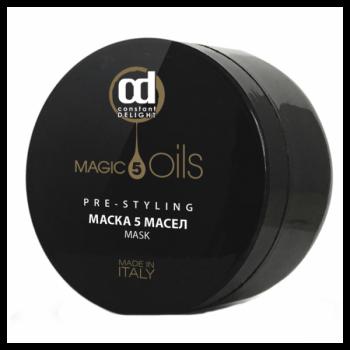 Маска 5 Magic Oils Pre-Styling 5 Масел, 500 мл
